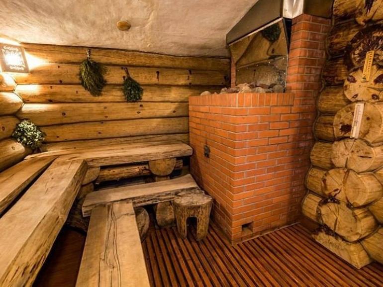 Внутренняя отделка русских бань фото