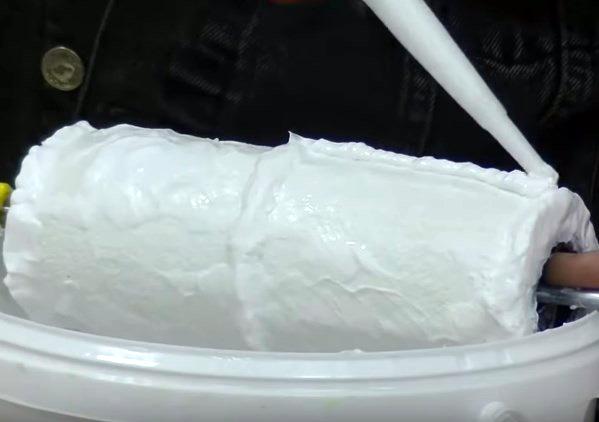 Декоративный валик своими руками: под кирпичную кладку и штукатурку с видео