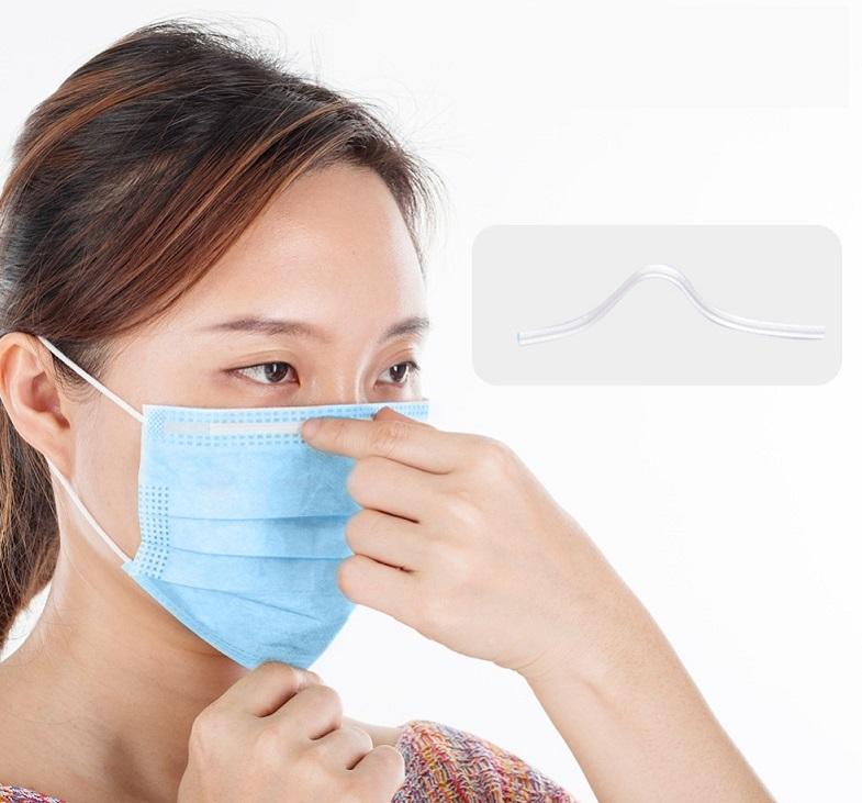 Подгонка носовой пластины маски по форме носа