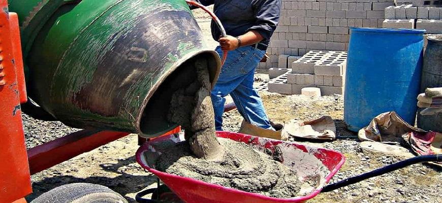 Бетон на бетономешалке