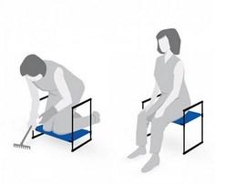 Складная садовая скамейка перевертыш инструкция